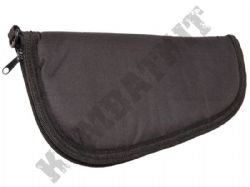 "Air Gun Pistol Revolver Bag Padded Zipped Soft Storage Slip Case Black Bag 12"" 30cm"